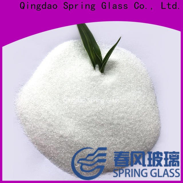 Spring Glass crushed glass powder manufacturer for wall