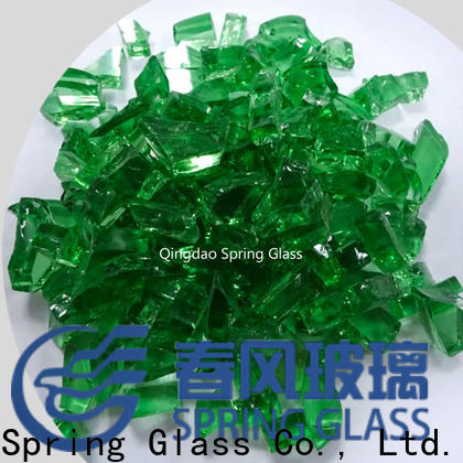 Spring Glass cullet factory for fire bottle