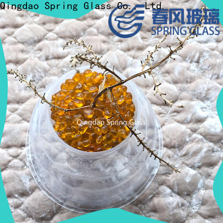 Spring Glass glass bead supplier for decoration
