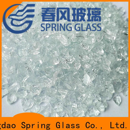 superior quality decorative crushed glass supplier for floor