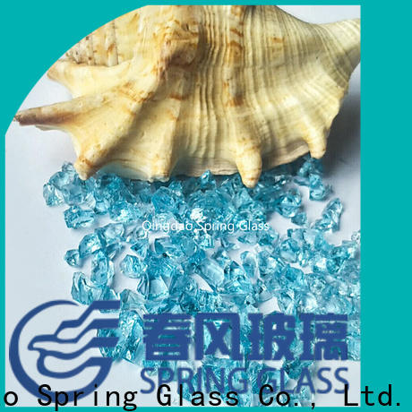 Spring Glass high quality crushed glass for busniess for kitchen
