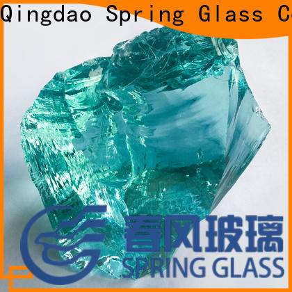 Spring Glass high quality glass rocks for busniess for decoration