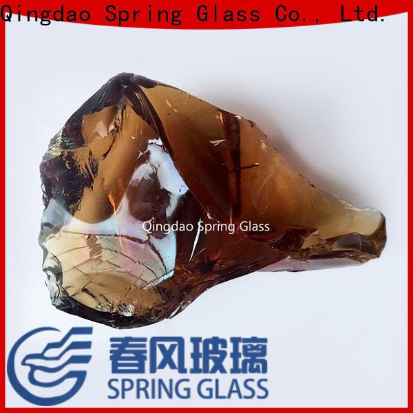 Spring Glass fire glass rocks for busniess for garden