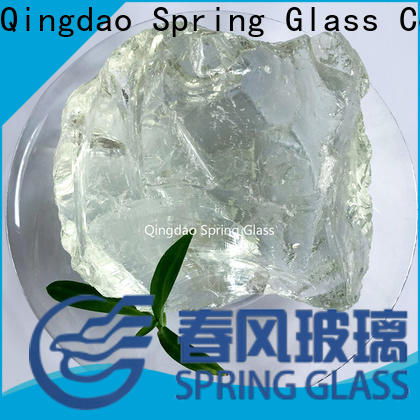 Spring Glass custom landscaping glass rocks for busniess for square