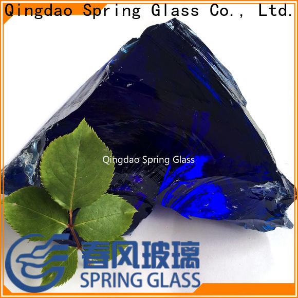 Spring Glass high quality glass rocks company for home