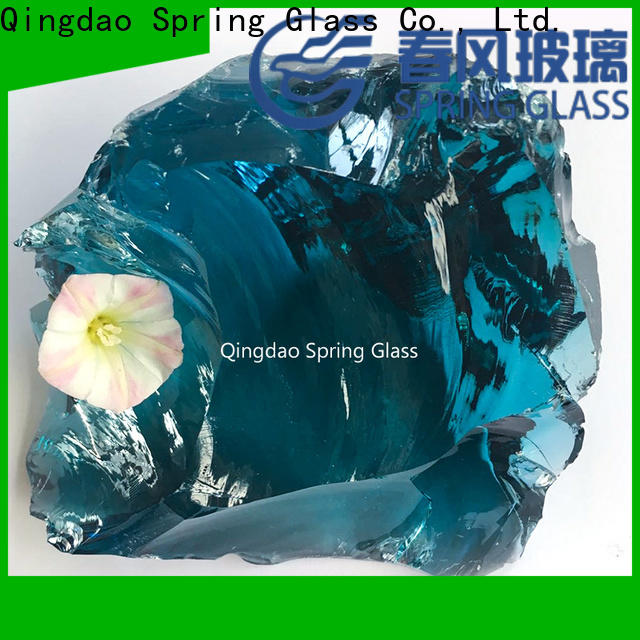 normal fire glass rocks factory for square