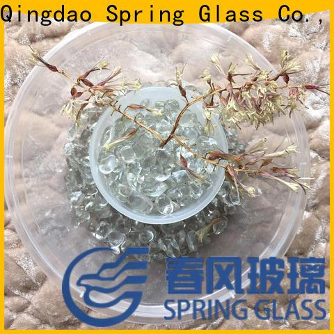 Spring Glass crystal glass gravel gravel for square