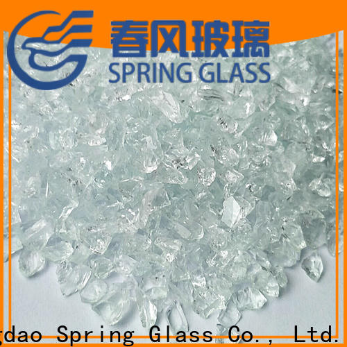 Spring Glass recycled crushed glass for busniess for kitchen