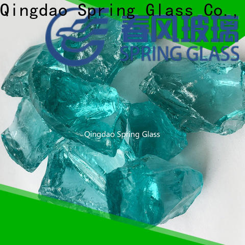 Spring Glass high quality crushed glass supplier for floor