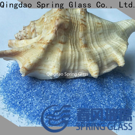 Spring Glass european recycled crushed glass company for decoration