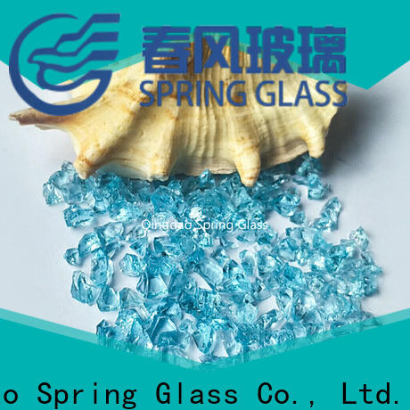 Spring Glass crushed glass factory for sale