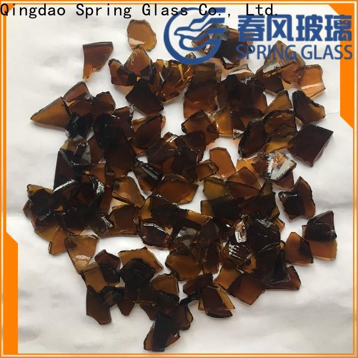 Spring Glass cullet manufacturer for water filtration