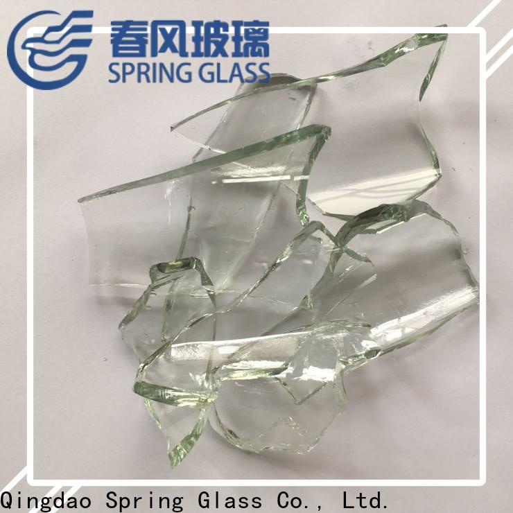 Spring Glass custom cullet manufacturer for fire bottle