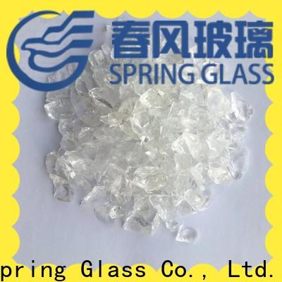 Spring Glass good selling recycled crushed glass manufacturer for decoration