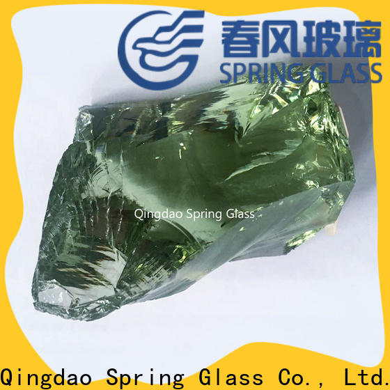 Spring Glass landscaping glass rocks manufacturer for home