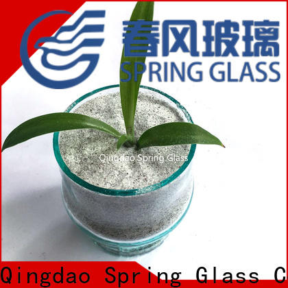 Spring Glass aluminium crushed mirror chips fast delivery for decoration