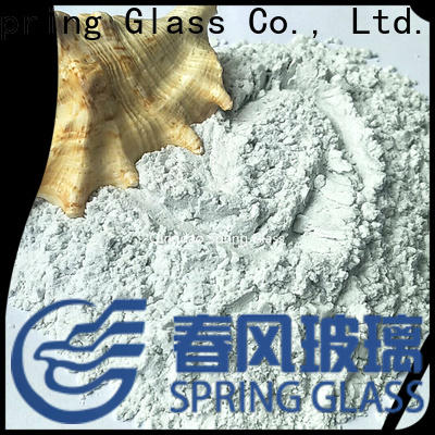 Spring Glass crushed glass powder supplier for industry