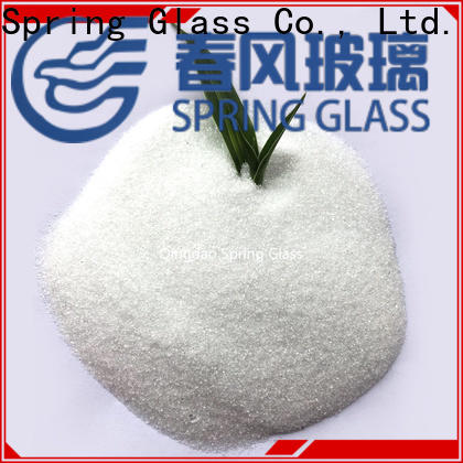Spring Glass crushed glass powder supplier for paving