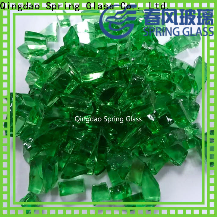 Spring Glass cullet company for water filtration
