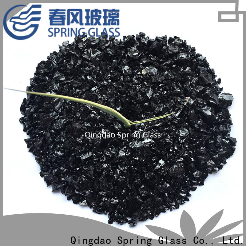 light crushed glass supplier for sale