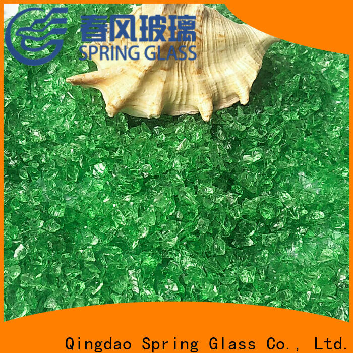 european crushed glass manufacturer for decoration