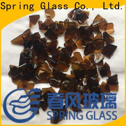 Spring Glass glass cullet for busniess for fire pit