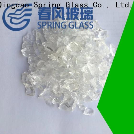 Spring Glass decorative crushed glass factory for kitchen