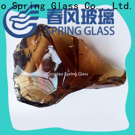 Spring Glass new fire glass rocks manufacturer for home
