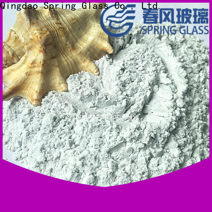 normal glass powder factory for paving