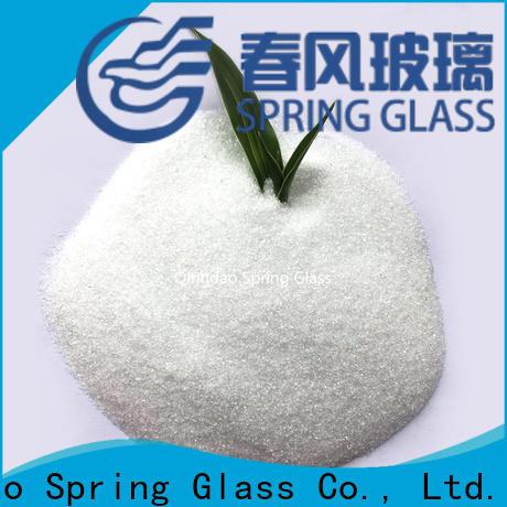 Spring Glass glass powder manufacturer for paving