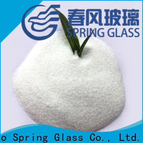 Spring Glass glass powder manufacturer for paving