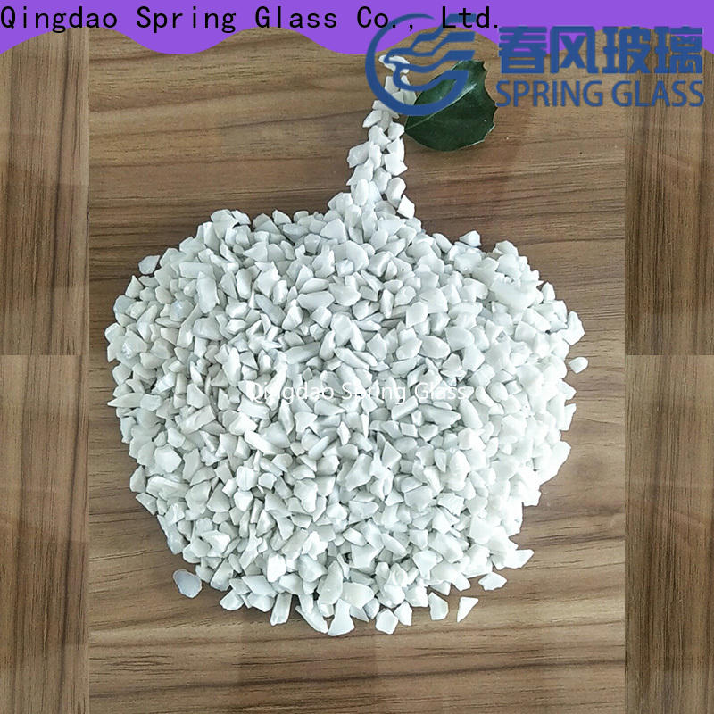 Spring Glass light crushed glass company for sale