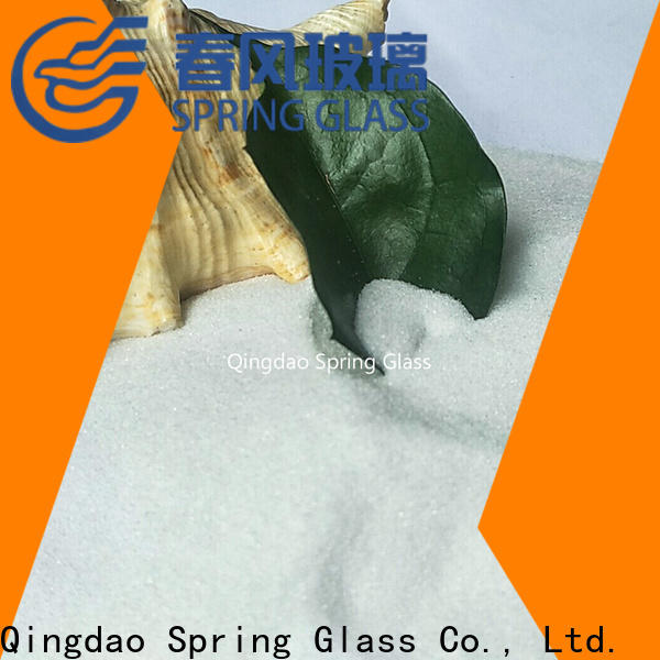 Spring Glass crushed glass supplier for kitchen