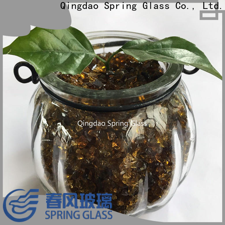 good selling decorative crushed glass manufacturer for kitchen