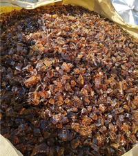 Amber Glass Rocks for Landscaping