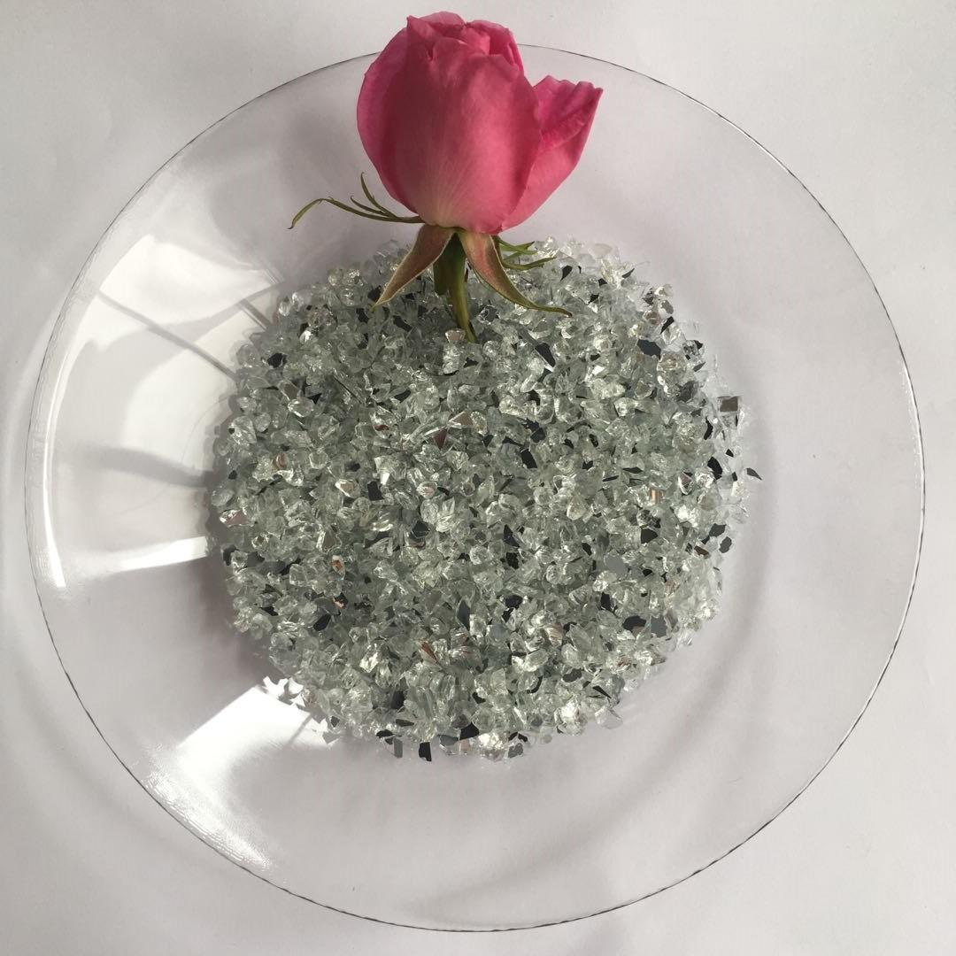 Spring Glass crushed mirror chips company
