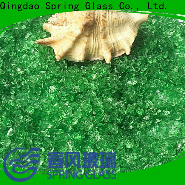 Spring Glass crushed glass manufacturer for decoration