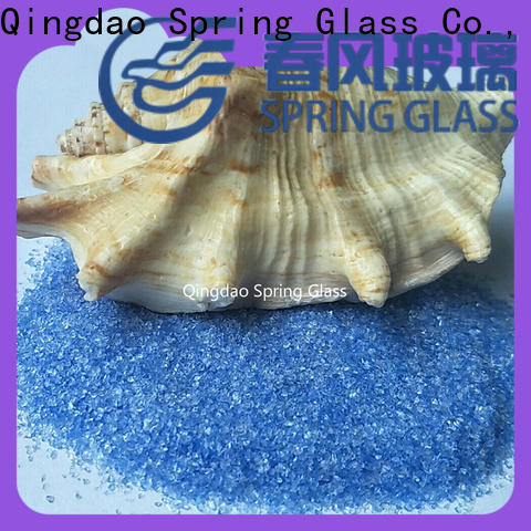 Spring Glass good selling decorative crushed glass factory for decoration