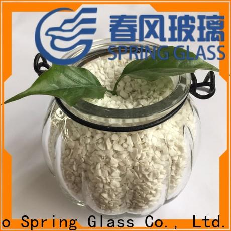 Spring Glass european decorative crushed glass supplier for sale