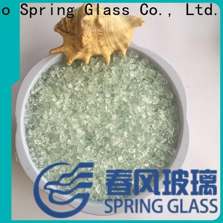 Spring Glass recycled crushed glass company for decoration