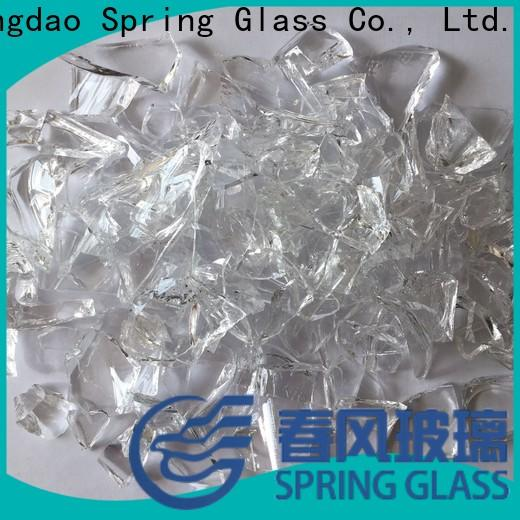 Spring Glass best cullet supplier for fire place