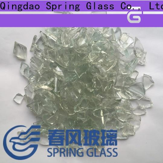 Spring Glass high quality cullet factory for fire pit