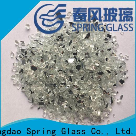 custom crushed mirror chips manufacturer for decoration