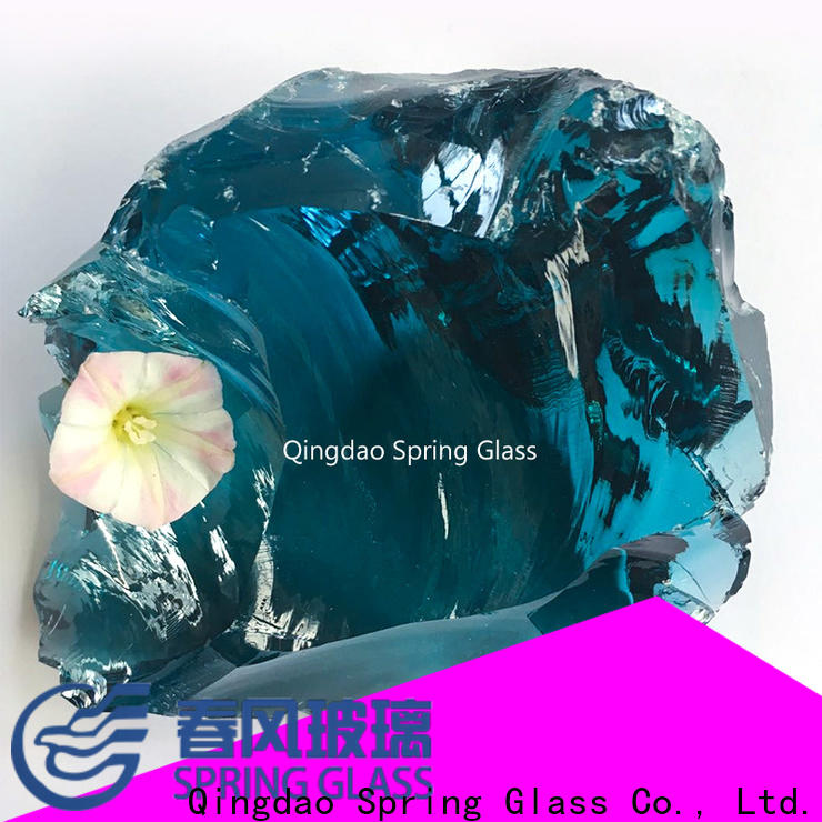 Spring Glass latest glass rocks company for decoration