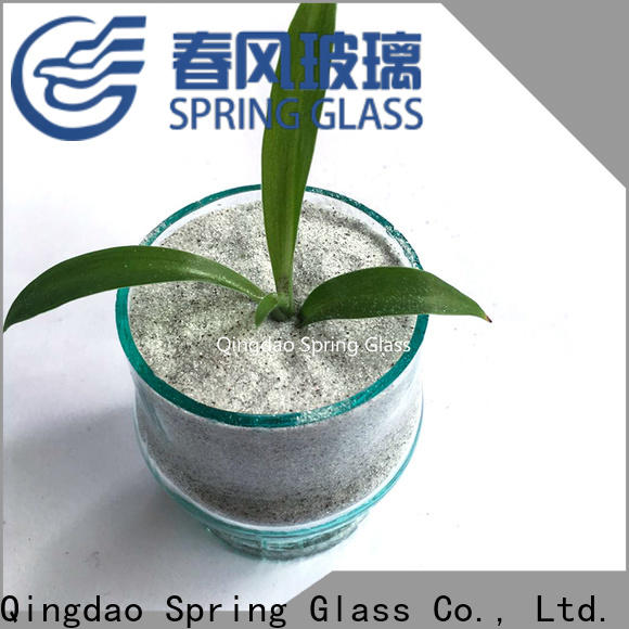 Spring Glass crushed glass chips fast delivery for decoration