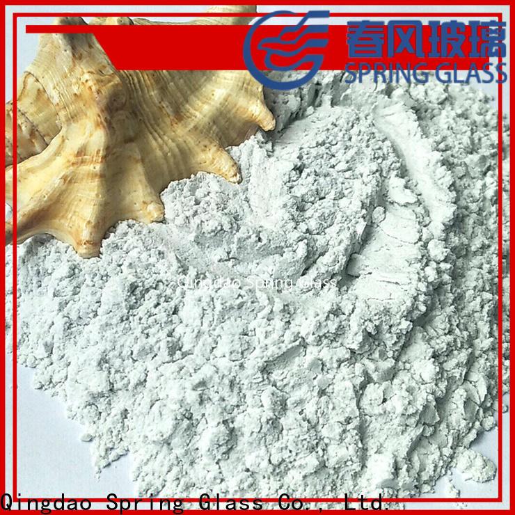 Spring Glass high quality glass powder manufacturer for paving