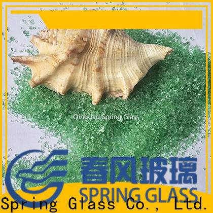 Spring Glass dark decorative crushed glass company for sale