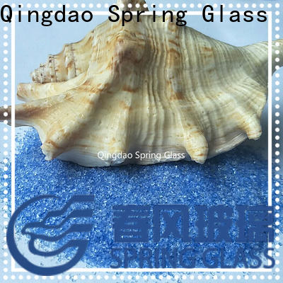 Spring Glass porcelain decorative crushed glass company for sale