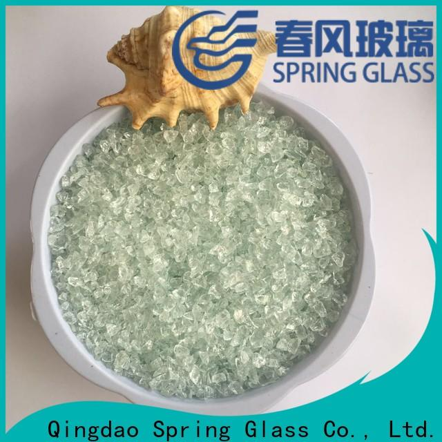 Spring Glass recycled decorative crushed glass manufacturer for sale