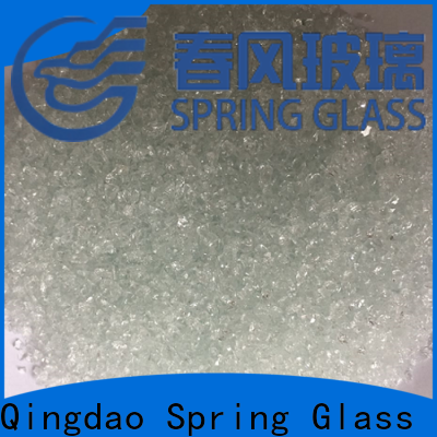 Spring Glass super white crushed glass company for decoration